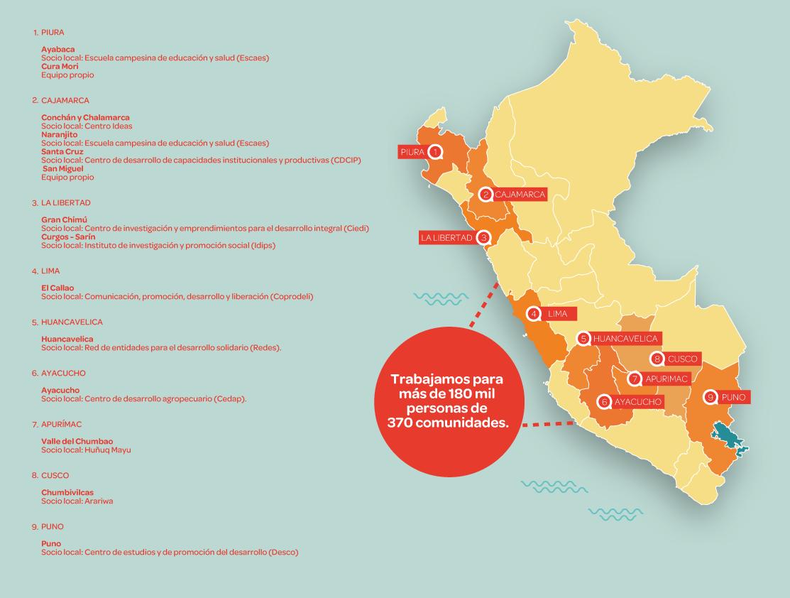 Nuestro trabajo en Perú