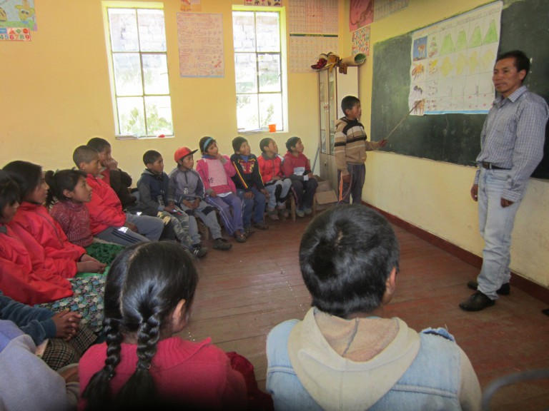 Una pequeña escuela con grandes sueños